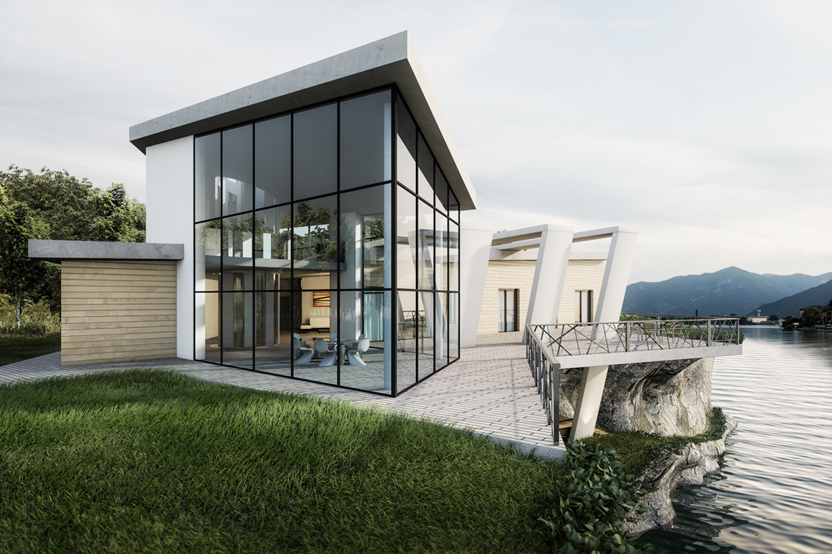Rendering fotorealistico – concept house