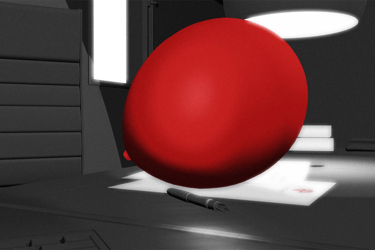 Animazione 3D – Red ball
