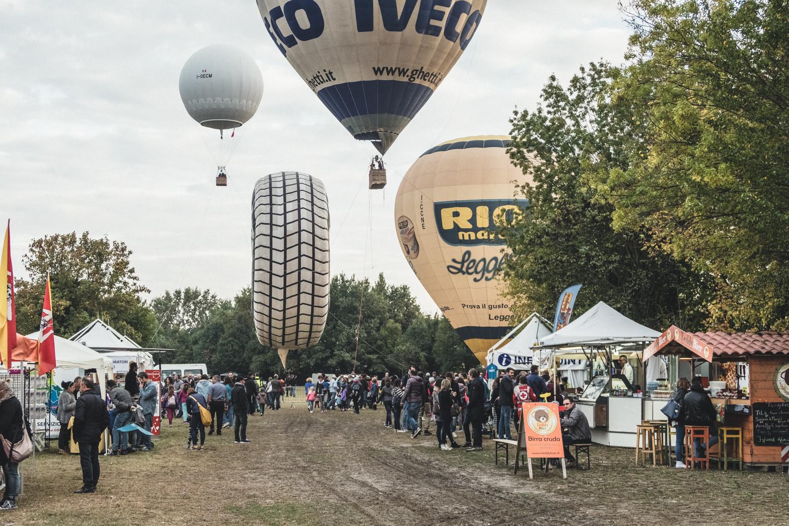 Festival delle Mongolfiere a Padova
