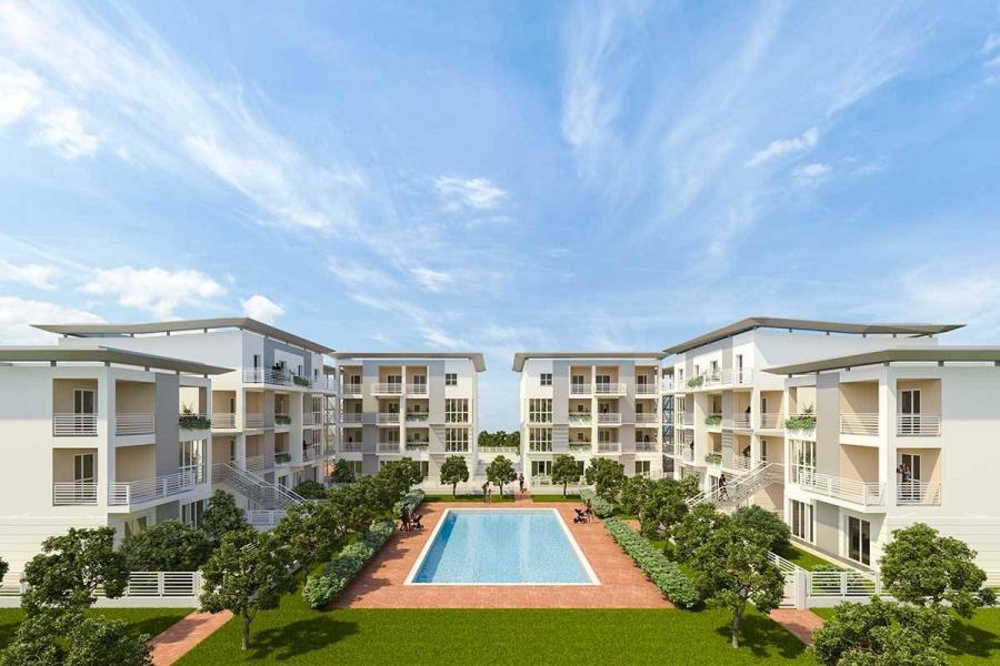 Rendering residence nuova costruzione